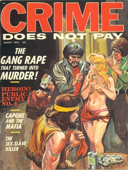 Crime Does Not Pay, august 1970
