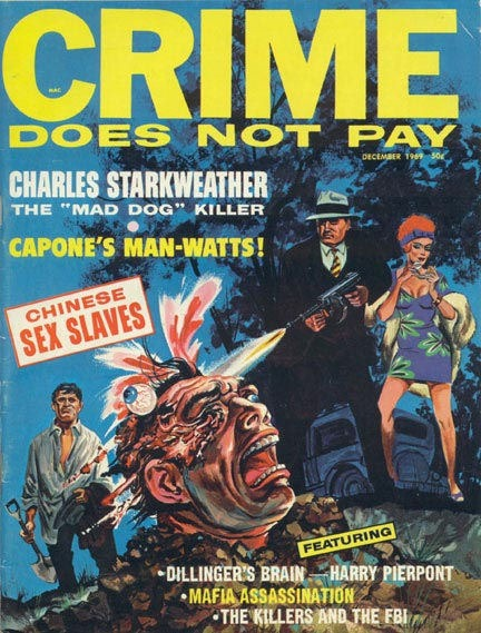 Crime Does Not Pay, december 1969