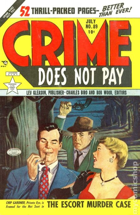 Crime Does Not Pay, juli 1953