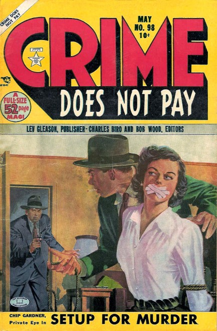 Crime Does Not Pay, maj 1954