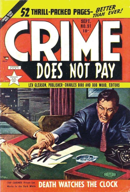 Crime Does Not Pay, september 1953