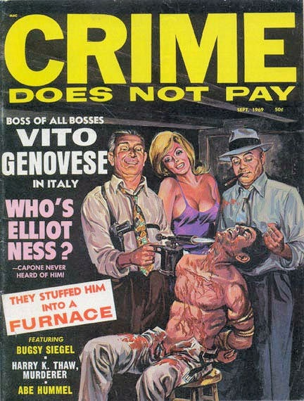 Crime Does Not Pay, september 1969