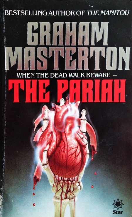 Papeback, Star Books 1983. Romanens 1. udg. Forsidens skaber ikke oplyst