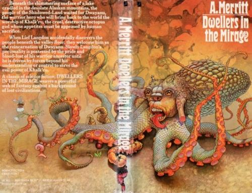 Paperback, Futura 1974. Den helt fantastiske forside er malet af mesterlige Patrick Woodroffe