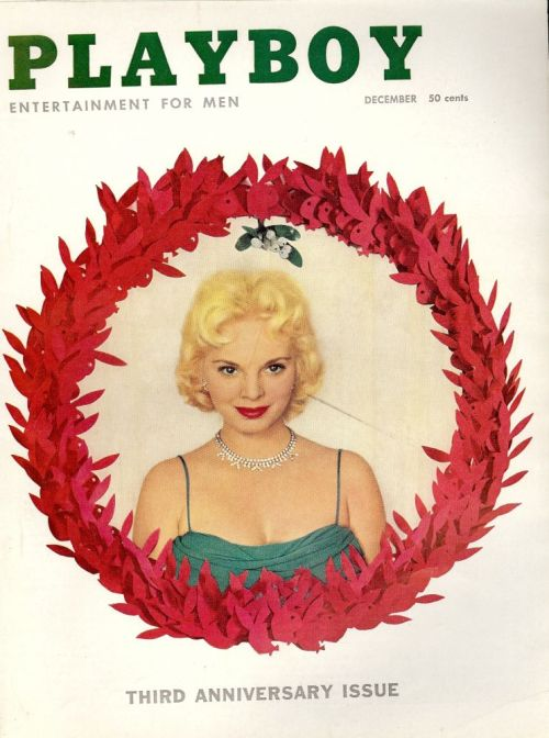 "Playboy, december 1956. Bladet hvor Charles Beaumonts fremragende novelle ""The Dark Music"" blev trykt"