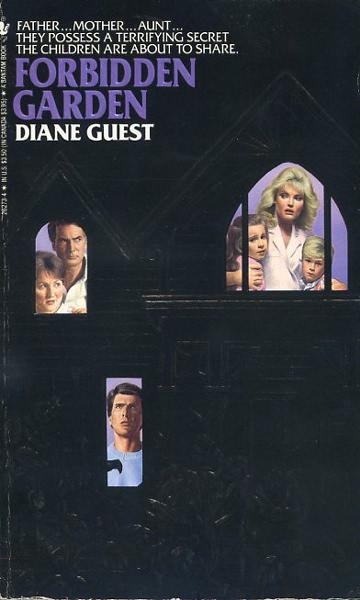 Paperback, Bantam Books 1987. Diane Gusts debutroman