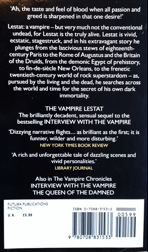 Paperback, Futura 1992