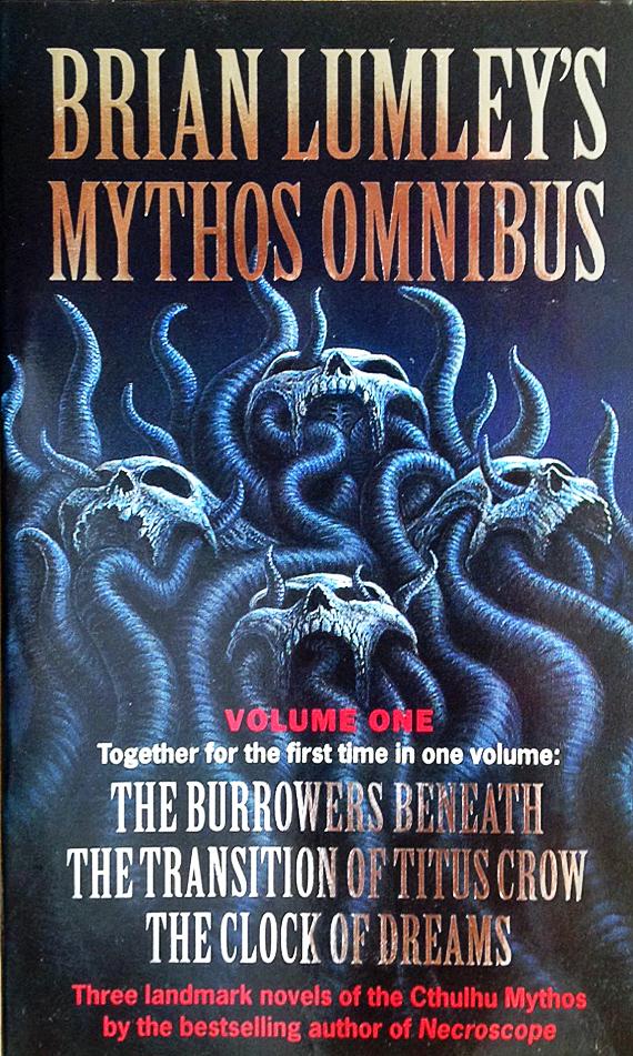 Paperback, HarperCollins 1997. Min omnibus-udgave med de første tre romaner om Titus Crow