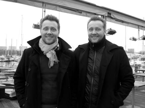 Brødrene Søren og Morten Ellemose