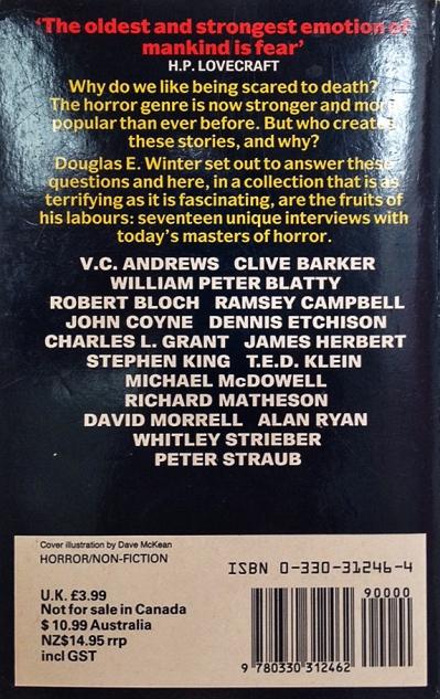Paperback, Pan Books 1990