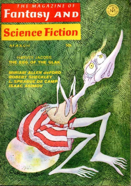 The Magazine of Fantasy and Science Fiction, marts 1968