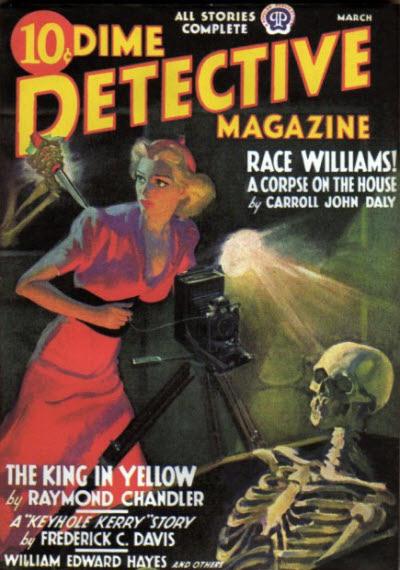 Dime Detective, marts 1938