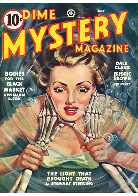 Dime Mystery Magazine, juli 1943