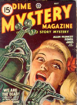 Dime Mystery, maj 1947