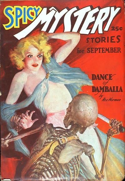 Spicy Mystery, september 1937