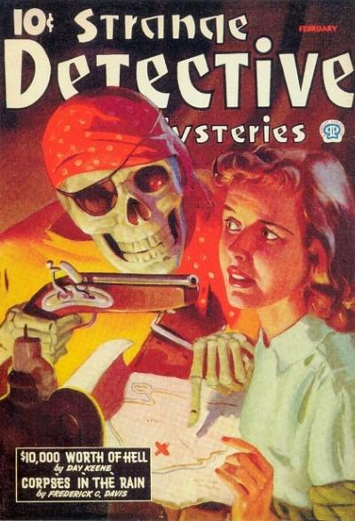 Strange Detective Mysteries, februar 1943