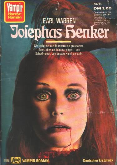 Vampir Horror-Roman, nr. 54 1978