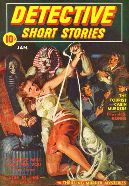 Detective Short Stories, januar 1942