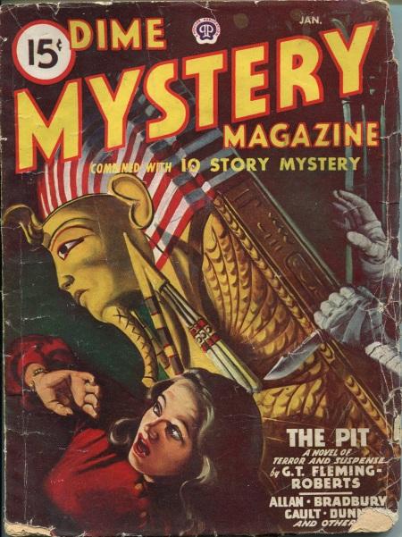 Dime Mystery Magazine, januar 1948