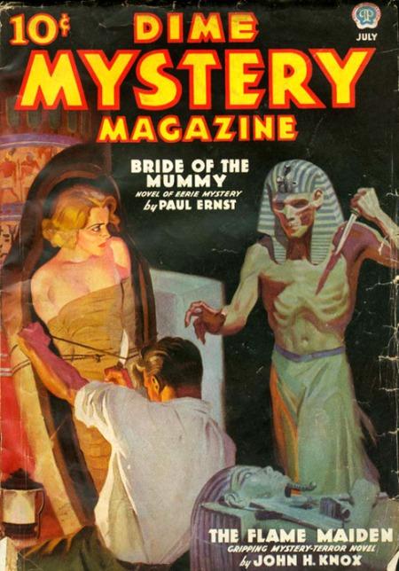 Dime Mystery Magazine, juli 1939