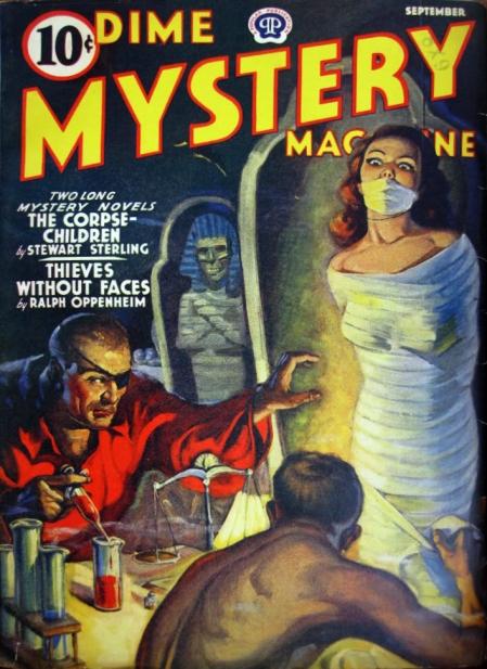 Dime Mystery Magazine, september 1940