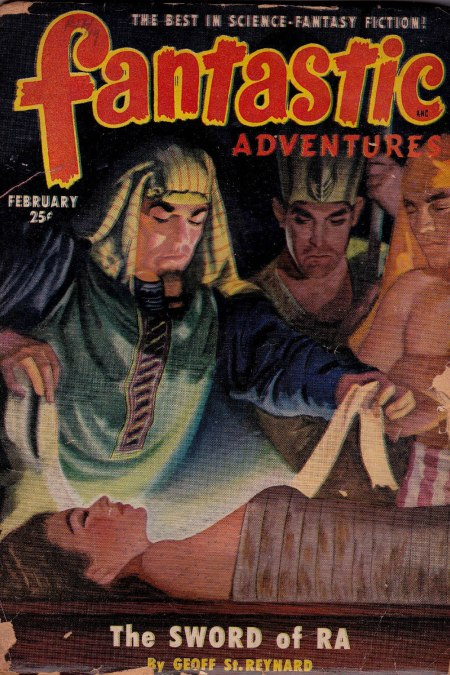 Fantastic Adventures, februar 1957