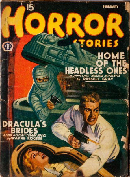 Horor Stories, februar 1941