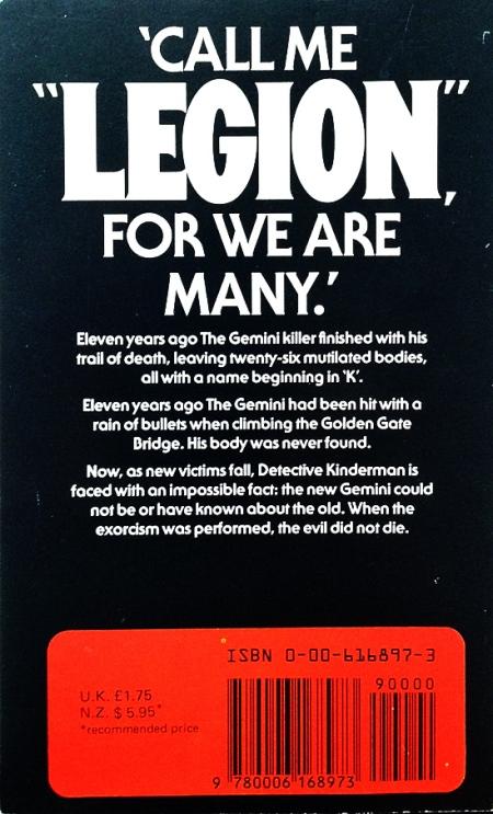 Paperback, Fontana 1984