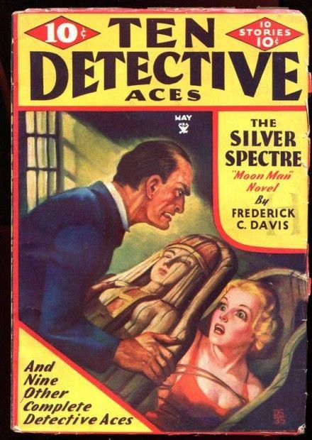 Ten Detective Aces Magazine, maj 1935