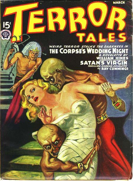 Terror Tales, marts 1940