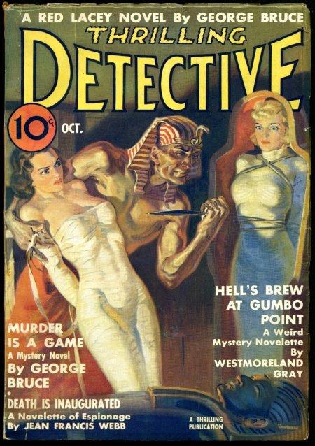 Thrilling Detective, oktober 1937