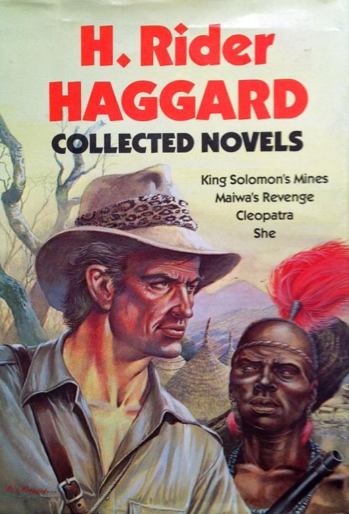 Hardcover, Castle Books 1987. Forsidens hyldets til pulpgenren er skabt af Eric Kincaid