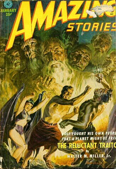 Amazing Stories, januar 1952