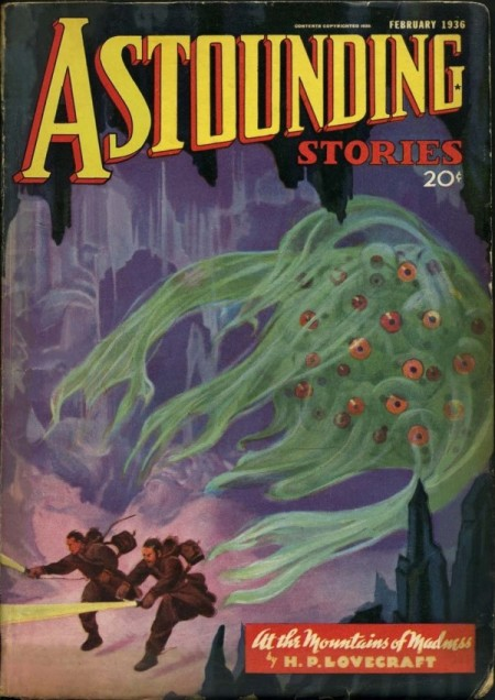 At The Mountains of Madness, Astounding Stories 1936
