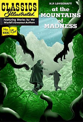 At the Mountains of Madness, Classics Illustrated (check lige nummeret)