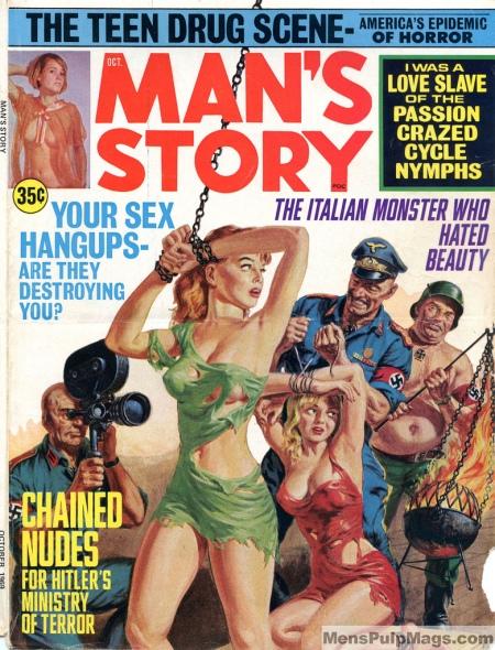 MAN'S STORY, October 1969