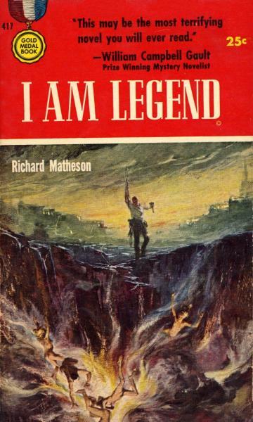 Paperback, Gold Medal Books 1954. Romanens første udgave