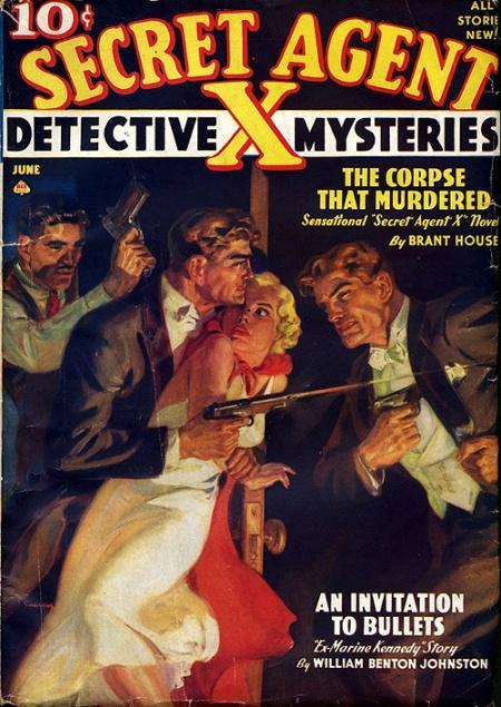Secret Agent X Mystery Magazine, juni 1941