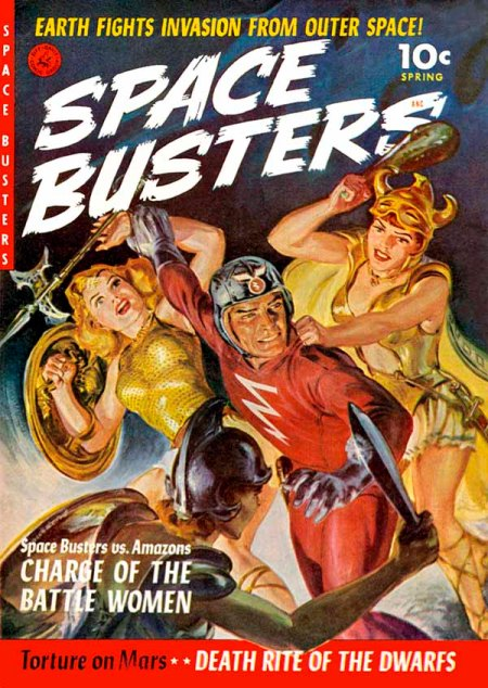 Space Busters, forår 1950