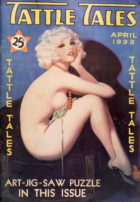 Tattle Tales, april 1933