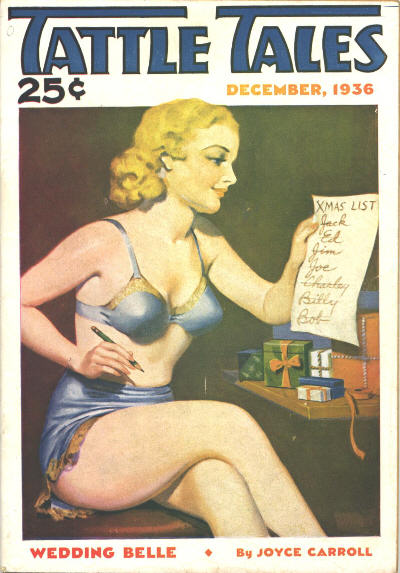 Tattle Tales, december 1936