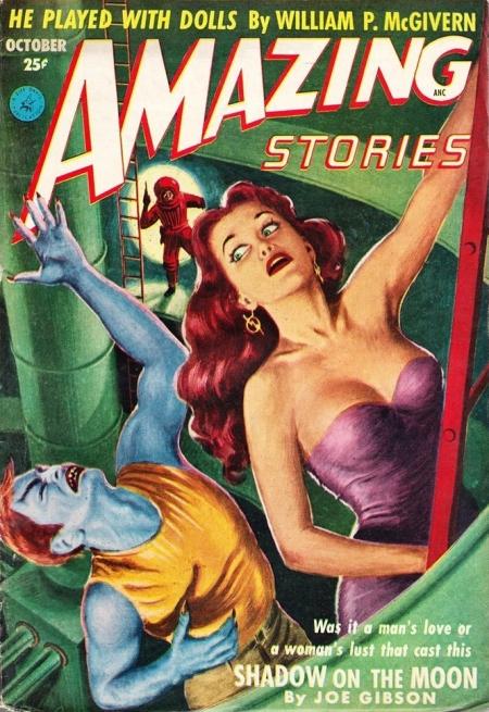 Amazing Stories, oktober 1952