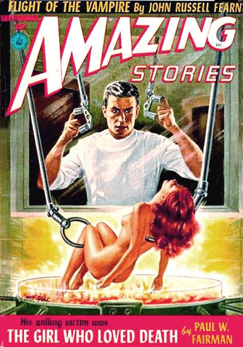 Amazing Stories, september 1952