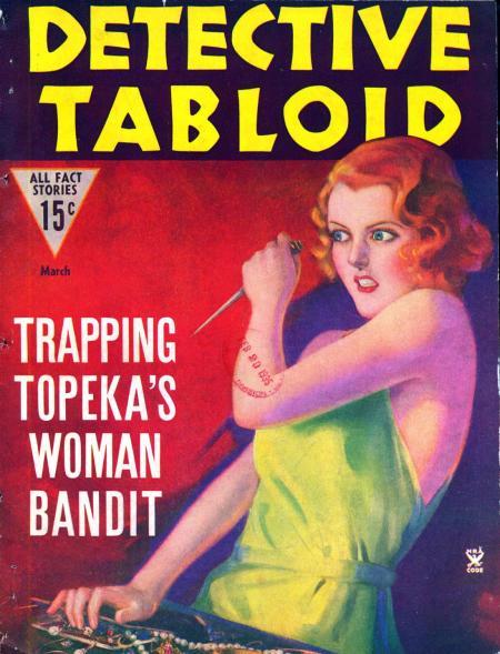 Detective Tabloid, marts 1935