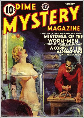 Dime Mystery, februar 1940