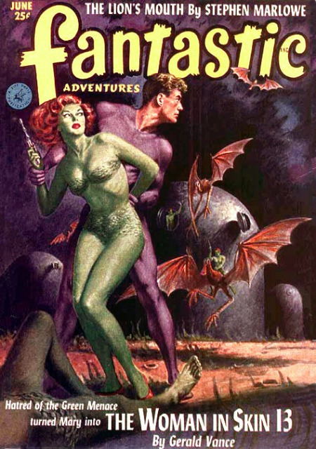 Fantastic Adventures, juni 1952