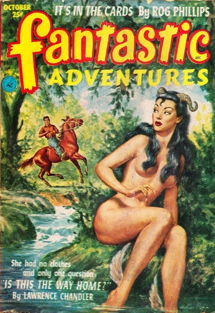 Fantastic Adventures, oktober 1952