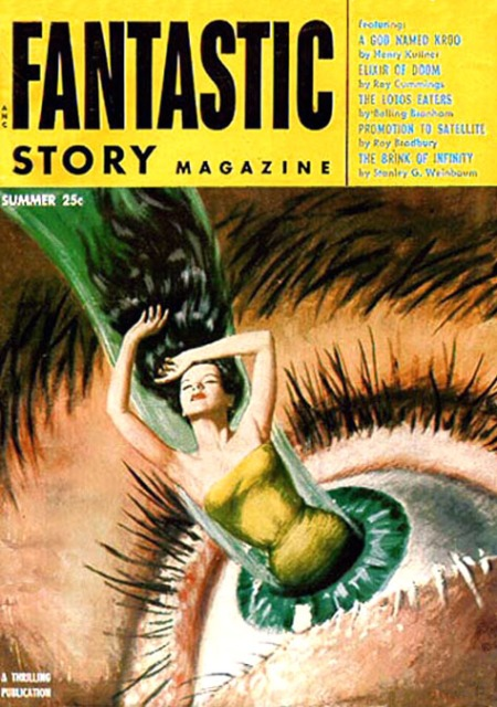 Fantastic Story Magazine, sommer 1954
