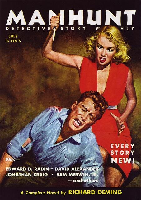Manhunt Magazine, juni 1966