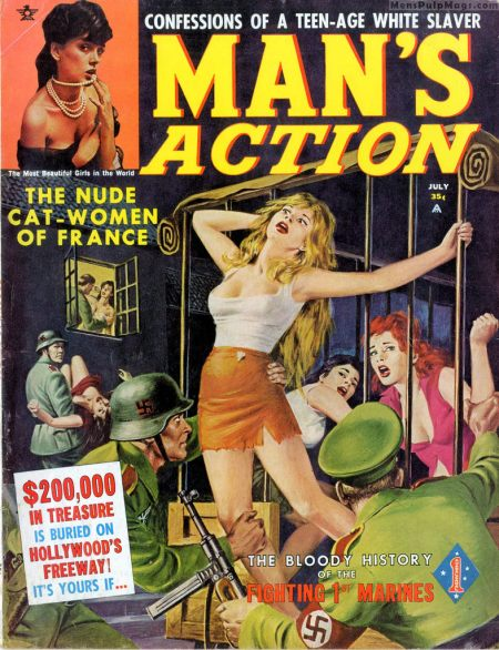 MAN'S ACTION, juli 1962